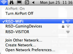 RISD WiFi Mac 10.7.3 img 1